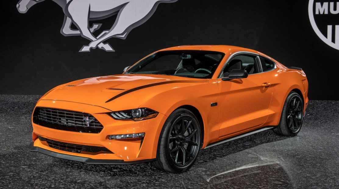 2022 Ford Mustang Colors