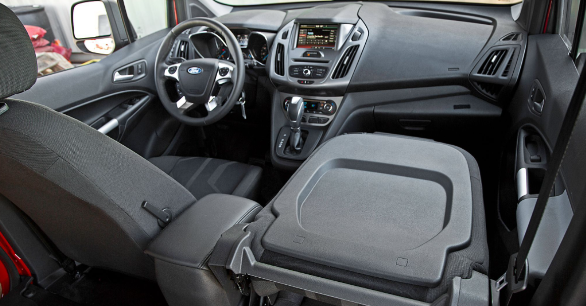 2022 Ford Transit Connect Interior