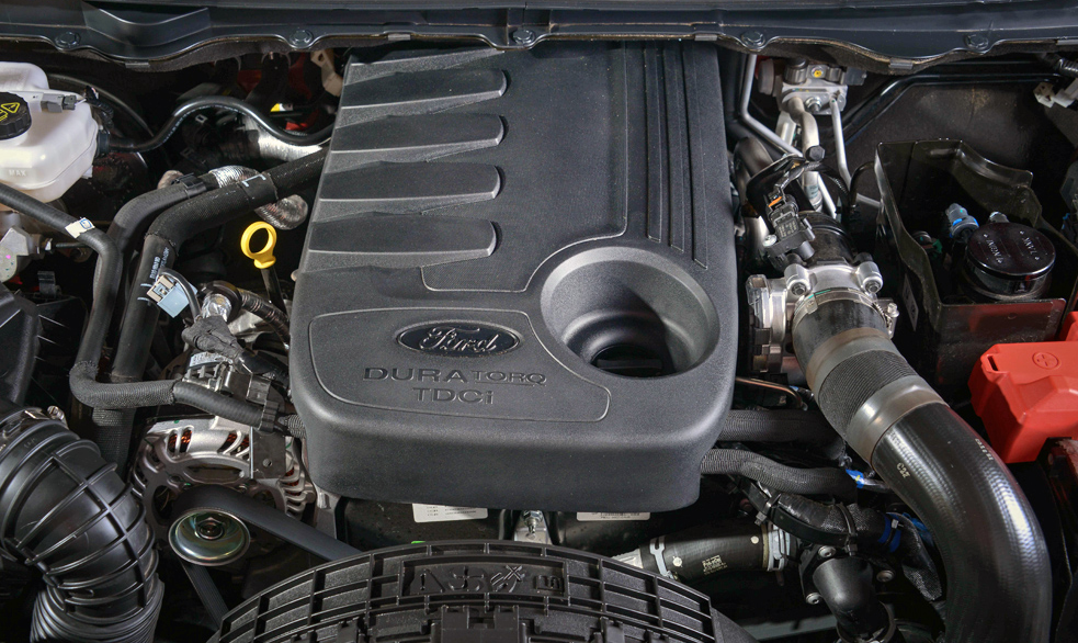 New2022 Ford Everest Engine
