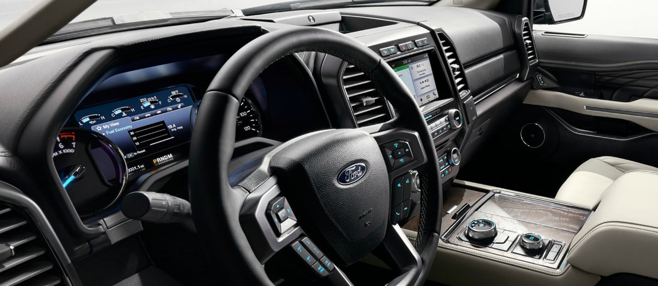 New 2022 Ford Expedition Interior