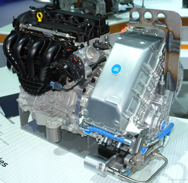 New 2023 Ford Escape Hybrid Engine